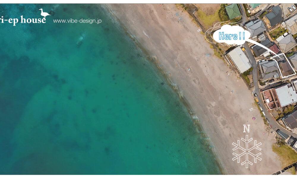 海まで10秒のロケーション@秋谷海岸。Comming soon on sale !